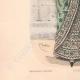 DÉTAILS 05 | Gravure de Mode - Paris - La Couturière - 1888 - Modèle 350