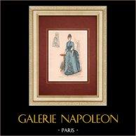 Modedrucke - Paris - La Couturière - 1888 - Modèle 259