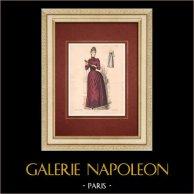 Modedrucke - Paris - La Couturière - 1888 - Modèle 362