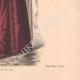 DÉTAILS 06   Gravure de Mode - Paris - La Couturière - 1888 - Modèle 362
