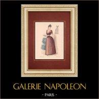 Modedrucke - Paris - La Couturière - 1888 - Modèle 378
