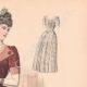 DÉTAILS 03 | Gravure de Mode - Paris - La Couturière - 1888 - Modèle 378