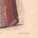 DÉTAILS 06 | Gravure de Mode - Paris - La Couturière - 1888 - Modèle 378