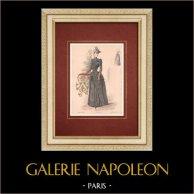 Modedrucke - Paris - La Couturière - 1889 - Modèle 31
