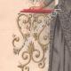 DÉTAILS 02 | Gravure de Mode - Paris - La Couturière - 1889 - Modèle 31