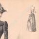 DÉTAILS 03 | Gravure de Mode - Paris - La Couturière - 1889 - Modèle 31