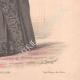DÉTAILS 06 | Gravure de Mode - Paris - La Couturière - 1889 - Modèle 31