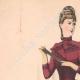 DÉTAILS 01 | Gravure de Mode - Paris - La Couturière - 1888 - Modèle 19