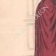 DÉTAILS 02 | Gravure de Mode - Paris - La Couturière - 1888 - Modèle 19