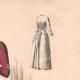 DÉTAILS 03 | Gravure de Mode - Paris - La Couturière - 1888 - Modèle 19