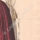 DÉTAILS 04 | Gravure de Mode - Paris - La Couturière - 1888 - Modèle 19