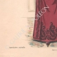 DÉTAILS 05 | Gravure de Mode - Paris - La Couturière - 1888 - Modèle 19