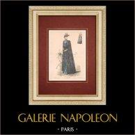 Fashion Plate - Paris - La Couturière - 1889 - Modèle 32