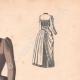 DÉTAILS 03   Gravure de Mode - Paris - La Couturière - 1888 - Modèle 363-19