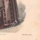 DÉTAILS 06   Gravure de Mode - Paris - La Couturière - 1888 - Modèle 363-19