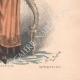 DÉTAILS 06   Gravure de Mode - Paris - La Couturière - 1888 - Modèle 353