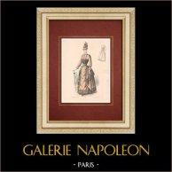Modedrucke - Paris - La Couturière - 1888 - Modèle 296