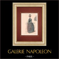 Modedrucke - Paris - La Couturière - 1888 - Modèle 299