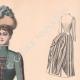 DÉTAILS 03   Gravure de Mode - Paris - La Couturière - 1888 - Modèle 299
