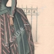 DÉTAILS 04   Gravure de Mode - Paris - La Couturière - 1888 - Modèle 299