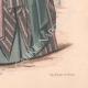 DÉTAILS 06   Gravure de Mode - Paris - La Couturière - 1888 - Modèle 299