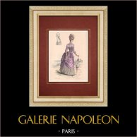 Fashion Plate - Paris - La Couturière - 1888 - Modèle 338