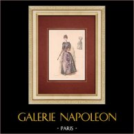 Modedrucke - Paris - La Couturière - 1888 - Modèle 289