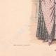 DÉTAILS 05 | Gravure de Mode - Paris - La Couturière - 1888 - Modèle 289
