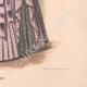 DÉTAILS 06 | Gravure de Mode - Paris - La Couturière - 1888 - Modèle 289