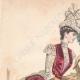 DÉTAILS 01 | Gravure de Mode - Paris - Mme Pelletier Vidal - Compagnie des Indes