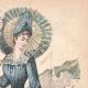 DÉTAILS 03 | Gravure de Mode - Paris - Mme Pelletier Vidal - Compagnie des Indes