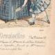 DÉTAILS 06 | Gravure de Mode - Paris - Mme Pelletier Vidal - Compagnie des Indes