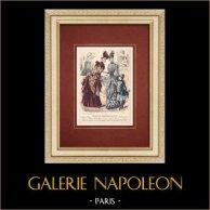 Modeprent - Parijs - Melle Thirion - Mme Taskin - Lucy & Ligney