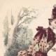 DÉTAILS 01 | Gravure de Mode - Paris - Melle Thirion - Mme Taskin - Lucy & Ligney