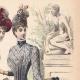 DÉTAILS 03 | Gravure de Mode - Paris - Melle Thirion - Mme Taskin - Lucy & Ligney