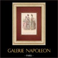 Gravura de Moda - Paris - Mme Raybois - Mme Boucherie - Emma Guelle