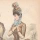 DÉTAILS 03 | Gravure de Mode - Paris - Mme Raybois - Mme Boucherie - Emma Guelle