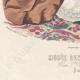 DÉTAILS 05 | Gravure de Mode - Paris - Musée des Familles - Novembre 1866