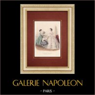 Modedrucke - Paris - Journal des Demoiselles