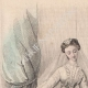 DÉTAILS 01 | Gravure de Mode - Paris - Journal des Demoiselles