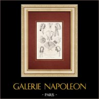 Fashion Plate - Paris - Journal des Soirées de Famille - Lingeries de Mme Challet Rabier