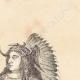 DÉTAILS 04 | Chef Mandan - Amérindien - Costume (États-Unis d'Amérique)