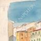 DÉTAILS 01 | Vue de Florence - Ponte Vecchio - Arno - Toscane (Italie)