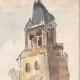 DÉTAILS 03 | Vue de Paris - Le Café Les Deux Magots - Abbaye de Saint-Germain-des-Prés (France)