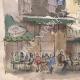 DÉTAILS 05 | Vue de Paris - Le Café Les Deux Magots - Abbaye de Saint-Germain-des-Prés (France)