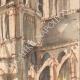 DÉTAILS 05 | Vue de Paris - Cathédrale Notre Dame de Paris (France)