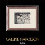 Balletto - Danzatrici - Ballerina - L'Entrée des Masques (Edgas Degas)