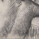 DÉTAILS 04   Nu Féminin - Femme se Coiffant (Edgar Degas)