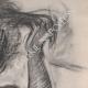 DÉTAILS 05   Nu Féminin - Femme se Coiffant (Edgar Degas)