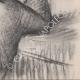 DÉTAILS 06   Nu Féminin - Femme se Coiffant (Edgar Degas)